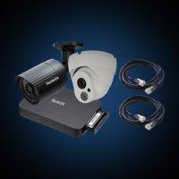 Комплект IP видеонаблюдения Falcon Eye FE-IP Galaxy 8.2