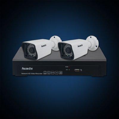 Falcon Eye Комплект IP видеонаблюдения Falcon Eye FE-NR-2104 KIT (4.2)