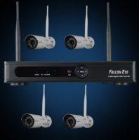 Комплект Wi-Fi IP видеонаблюдения Falcon Eye FE-1104WIFI KIT