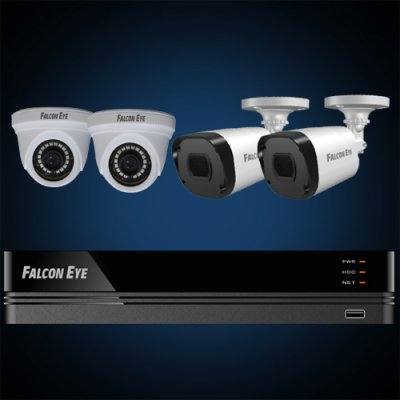 Falcon Eye Комплект Falcon Eye FE-104MHD KIT Офис SMART