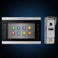 Видеодомофон Falcon Eye FE-70 ATLAS HD (Black) + FE-400 AHD (Silver)